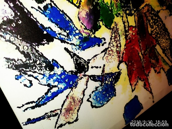 Varios objetos de Arte: RECONOCIDO PINTOR VALENCIANO VICENTE ENGUIDANOS GARRIDO PINTURAS MUSICALES. ÚNICO EN EL MUNDO - Foto 3 - 176374900