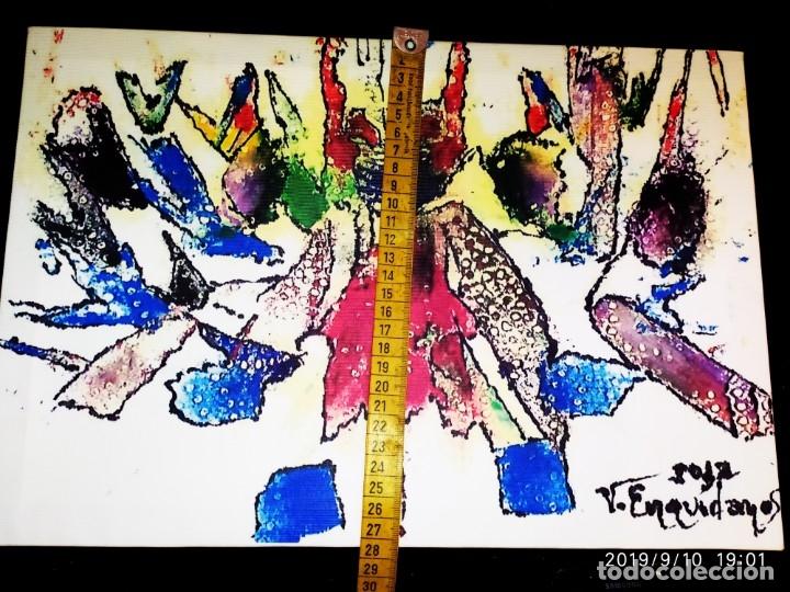 Varios objetos de Arte: RECONOCIDO PINTOR VALENCIANO VICENTE ENGUIDANOS GARRIDO PINTURAS MUSICALES. ÚNICO EN EL MUNDO - Foto 12 - 176374900