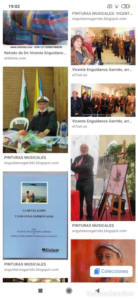 Varios objetos de Arte: RECONOCIDO PINTOR VALENCIANO VICENTE ENGUIDANOS GARRIDO PINTURAS MUSICALES. ÚNICO EN EL MUNDO - Foto 21 - 176374900