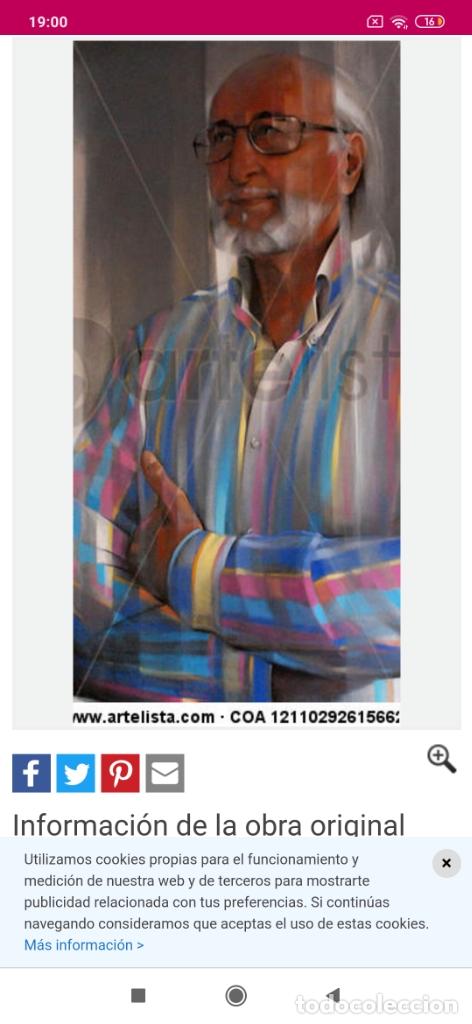 Varios objetos de Arte: RECONOCIDO PINTOR VALENCIANO VICENTE ENGUIDANOS GARRIDO PINTURAS MUSICALES. ÚNICO EN EL MUNDO - Foto 34 - 176374900