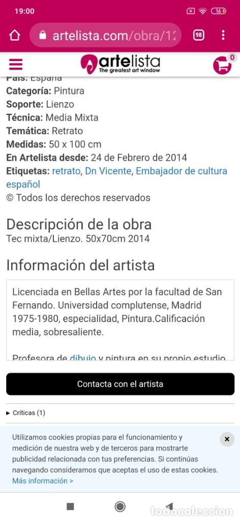 Varios objetos de Arte: RECONOCIDO PINTOR VALENCIANO VICENTE ENGUIDANOS GARRIDO PINTURAS MUSICALES. ÚNICO EN EL MUNDO - Foto 39 - 176374900
