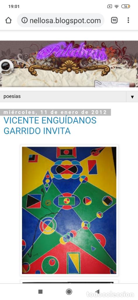 Varios objetos de Arte: RECONOCIDO PINTOR VALENCIANO VICENTE ENGUIDANOS GARRIDO PINTURAS MUSICALES. ÚNICO EN EL MUNDO - Foto 41 - 176374900
