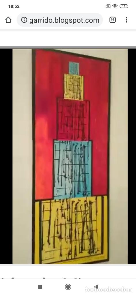 Varios objetos de Arte: RECONOCIDO PINTOR VALENCIANO VICENTE ENGUIDANOS GARRIDO PINTURAS MUSICALES. ÚNICO EN EL MUNDO - Foto 46 - 176374900