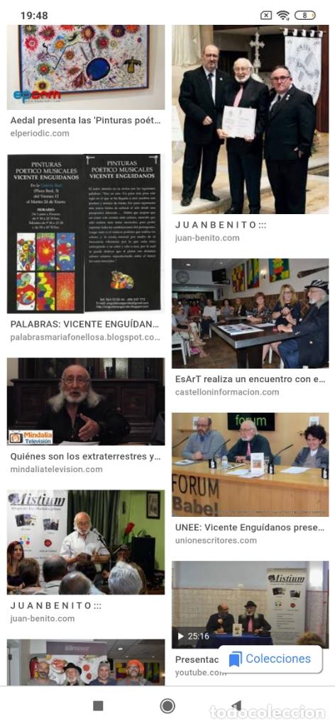 Varios objetos de Arte: RECONOCIDO PINTOR VALENCIANO VICENTE ENGUIDANOS GARRIDO PINTURAS MUSICALES. ÚNICO EN EL MUNDO - Foto 52 - 176374900