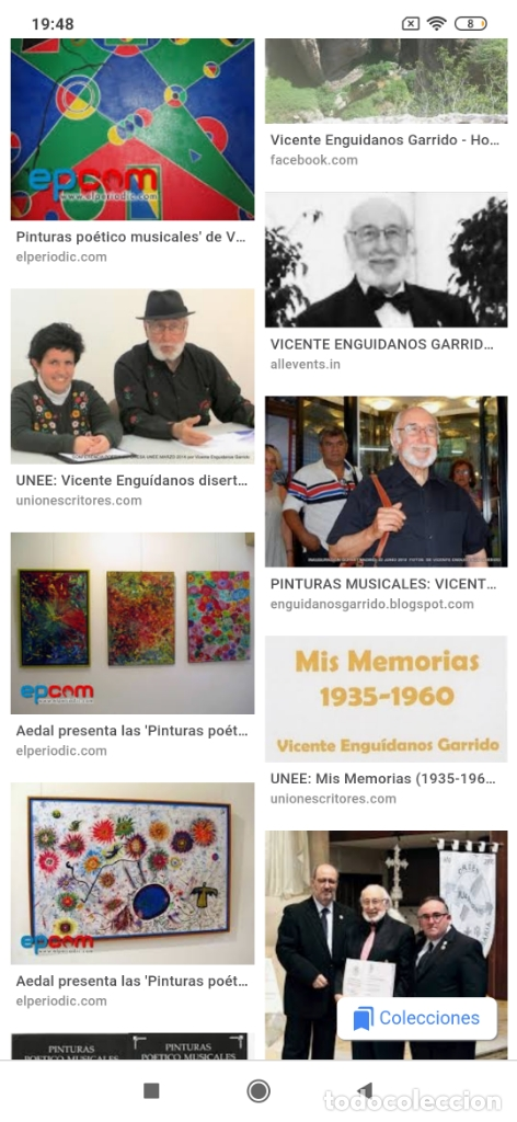 Varios objetos de Arte: RECONOCIDO PINTOR VALENCIANO VICENTE ENGUIDANOS GARRIDO PINTURAS MUSICALES. ÚNICO EN EL MUNDO - Foto 53 - 176374900