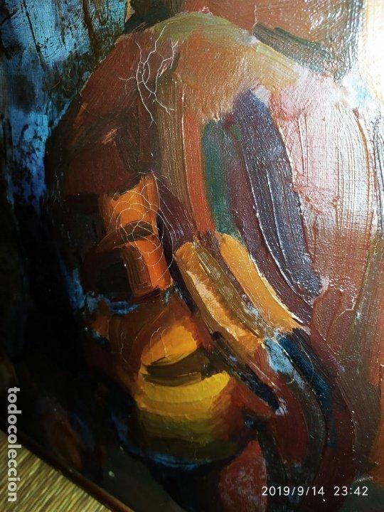 OLEO ROSA PILAR ASES MARTÍNEZ RECONOCIDA PINTORA PINTOR ALICANTINA ALCOY UNICA OBRA VENTA RARA UNICO (Arte - Varios Objetos de Arte)