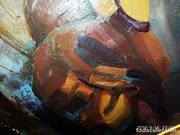 Varios objetos de Arte: OLEO ROSA PILAR ASES MARTÍNEZ RECONOCIDA PINTORA PINTOR ALICANTINA ALCOY UNICA OBRA VENTA RARA UNICO - Foto 2 - 176457447