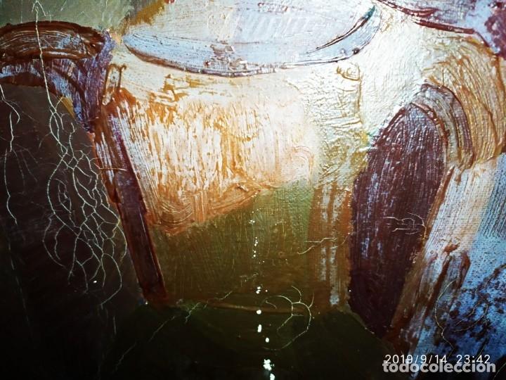 Varios objetos de Arte: OLEO ROSA PILAR ASES MARTÍNEZ RECONOCIDA PINTORA PINTOR ALICANTINA ALCOY UNICA OBRA VENTA RARA UNICO - Foto 3 - 176457447