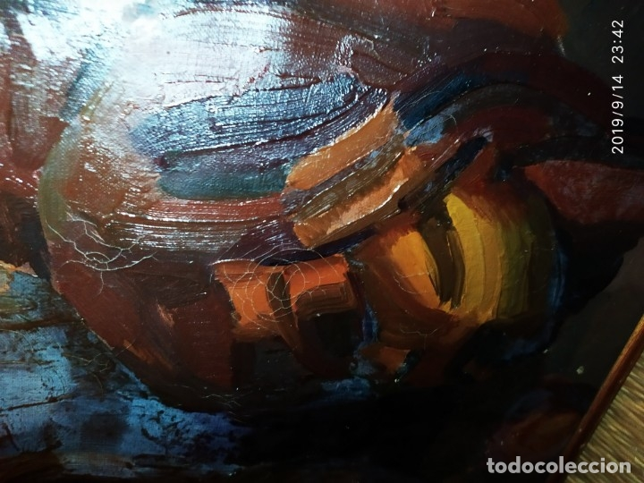 Varios objetos de Arte: OLEO ROSA PILAR ASES MARTÍNEZ RECONOCIDA PINTORA PINTOR ALICANTINA ALCOY UNICA OBRA VENTA RARA UNICO - Foto 5 - 176457447