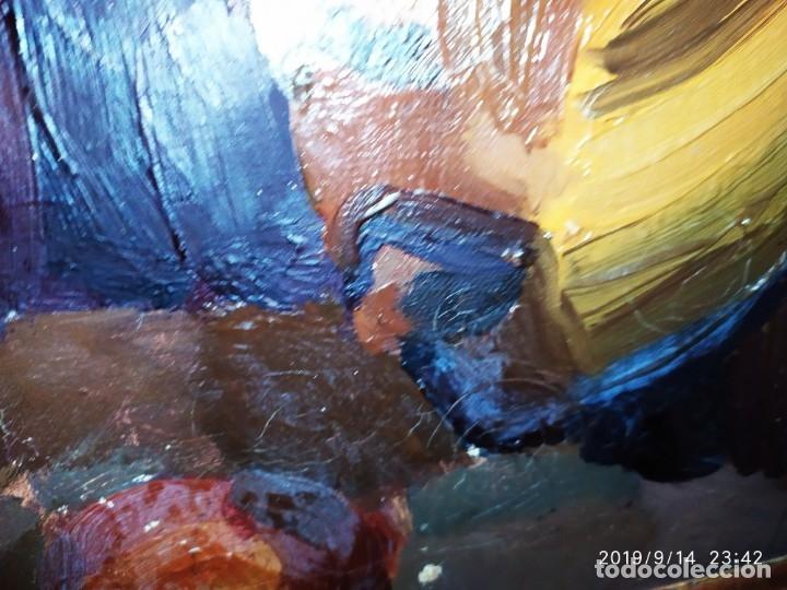 Varios objetos de Arte: OLEO ROSA PILAR ASES MARTÍNEZ RECONOCIDA PINTORA PINTOR ALICANTINA ALCOY UNICA OBRA VENTA RARA UNICO - Foto 8 - 176457447