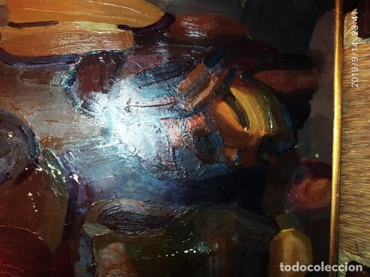 Varios objetos de Arte: OLEO ROSA PILAR ASES MARTÍNEZ RECONOCIDA PINTORA PINTOR ALICANTINA ALCOY UNICA OBRA VENTA RARA UNICO - Foto 11 - 176457447