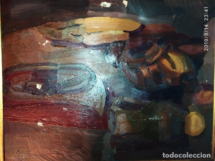 Varios objetos de Arte: OLEO ROSA PILAR ASES MARTÍNEZ RECONOCIDA PINTORA PINTOR ALICANTINA ALCOY UNICA OBRA VENTA RARA UNICO - Foto 15 - 176457447