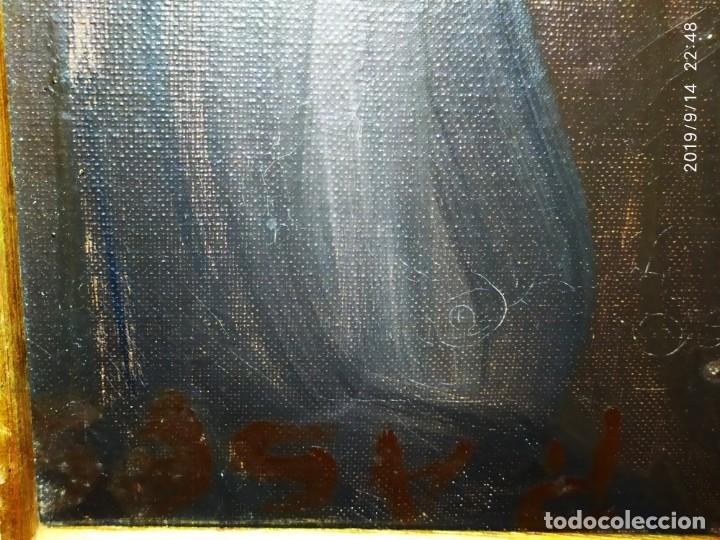 Varios objetos de Arte: OLEO ROSA PILAR ASES MARTÍNEZ RECONOCIDA PINTORA PINTOR ALICANTINA ALCOY UNICA OBRA VENTA RARA UNICO - Foto 16 - 176457447