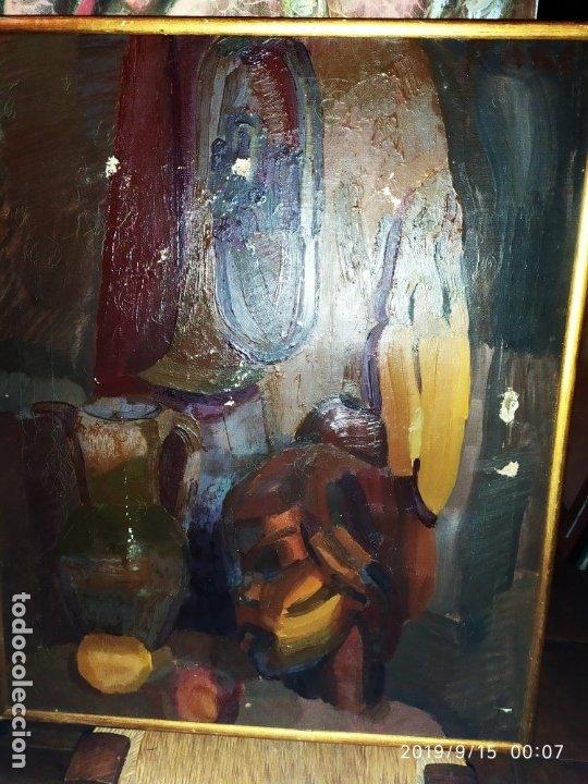 Varios objetos de Arte: OLEO ROSA PILAR ASES MARTÍNEZ RECONOCIDA PINTORA PINTOR ALICANTINA ALCOY UNICA OBRA VENTA RARA UNICO - Foto 31 - 176457447