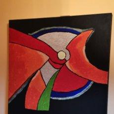 Varios objetos de Arte: PINTURA SOBRE LIENZO, FIRMADO. Lote 176516247