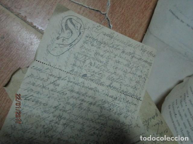 Varios objetos de Arte: manuscrito ALICANTE 1950 sobre MEMORIA anatomia artistica DIBUJOS ETC - Foto 4 - 176589177