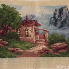 Varios objetos de Arte: CABAÑA EN LA SIERRA. Lote 176605090