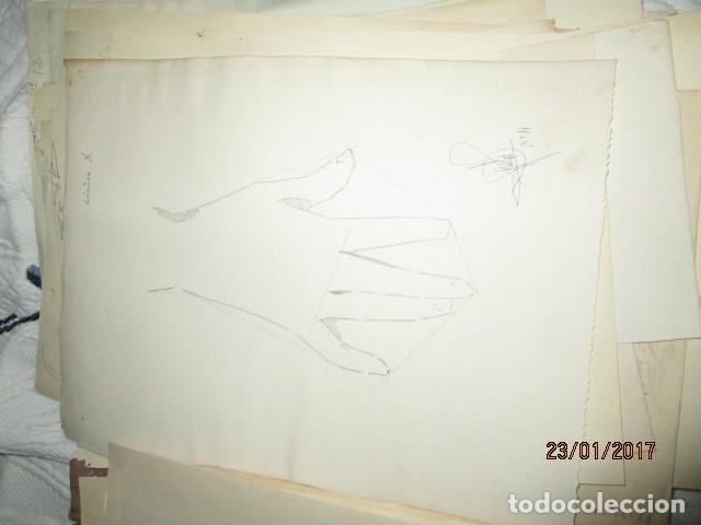 Varios objetos de Arte: ANTIGUA CARPETA CON 65 DIBUJOS ANTIGUA ACADEMIA O TALLER DE ARTE escuela trabajo de ALICANTE - Foto 8 - 176645809
