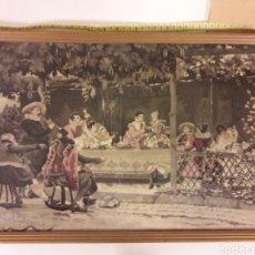 Varios objetos de Arte: TAPIZ DEL SIGLO XIX. Lote 176854870