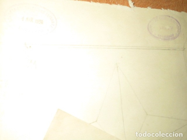 Varios objetos de Arte: CARPETA LOTE 25 DIBUJOS ESCUELA MAESTRIA INDUSTRIAL ALICANTE - Foto 7 - 176952260