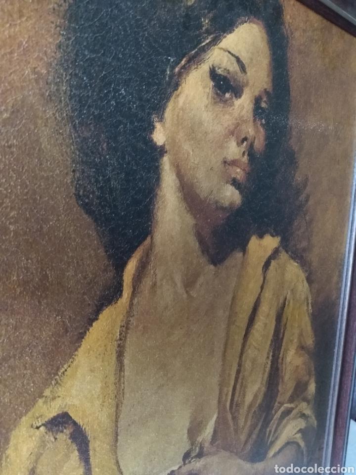 Varios objetos de Arte: CUADRO ( ANTIGUO FIRMADO ) PINTADO SOBRE TABLA. MÁS CUADROS EN MÍ PERFIL. - Foto 2 - 177300390