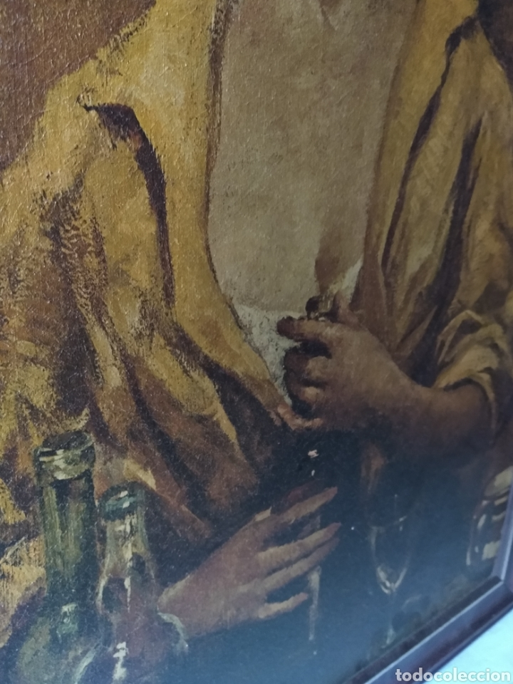 Varios objetos de Arte: CUADRO ( ANTIGUO FIRMADO ) PINTADO SOBRE TABLA. MÁS CUADROS EN MÍ PERFIL. - Foto 3 - 177300390