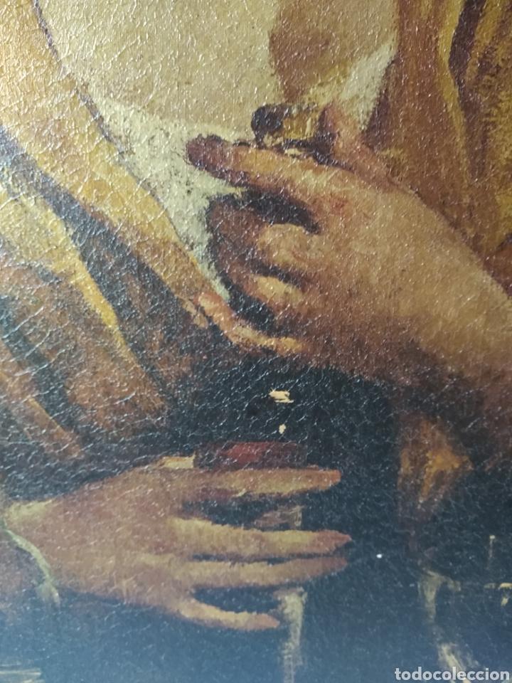 Varios objetos de Arte: CUADRO ( ANTIGUO FIRMADO ) PINTADO SOBRE TABLA. MÁS CUADROS EN MÍ PERFIL. - Foto 5 - 177300390