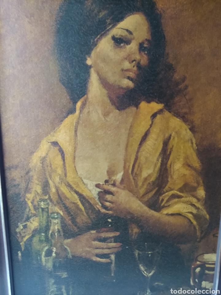 Varios objetos de Arte: CUADRO ( ANTIGUO FIRMADO ) PINTADO SOBRE TABLA. MÁS CUADROS EN MÍ PERFIL. - Foto 6 - 177300390