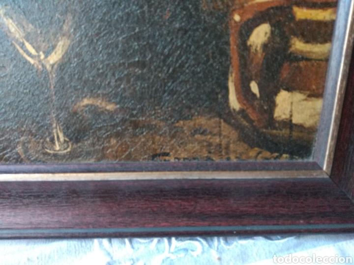 Varios objetos de Arte: CUADRO ( ANTIGUO FIRMADO ) PINTADO SOBRE TABLA. MÁS CUADROS EN MÍ PERFIL. - Foto 10 - 177300390