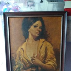 Varios objetos de Arte: CUADRO ( ANTIGUO FIRMADO ) PINTADO SOBRE TABLA. MÁS CUADROS EN MÍ PERFIL.. Lote 177300390
