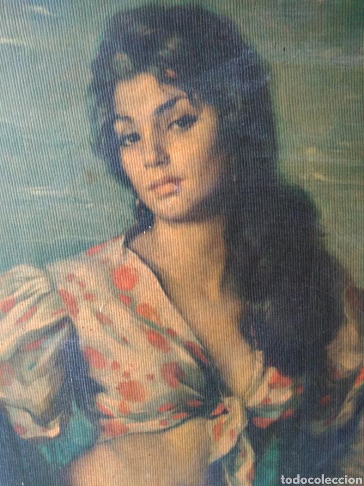 Varios objetos de Arte: CUADRO ANTIGUO ( MUJER CON CANTARO ) MÁS CUADROS EN MÍ PERFIL. - Foto 2 - 177405330