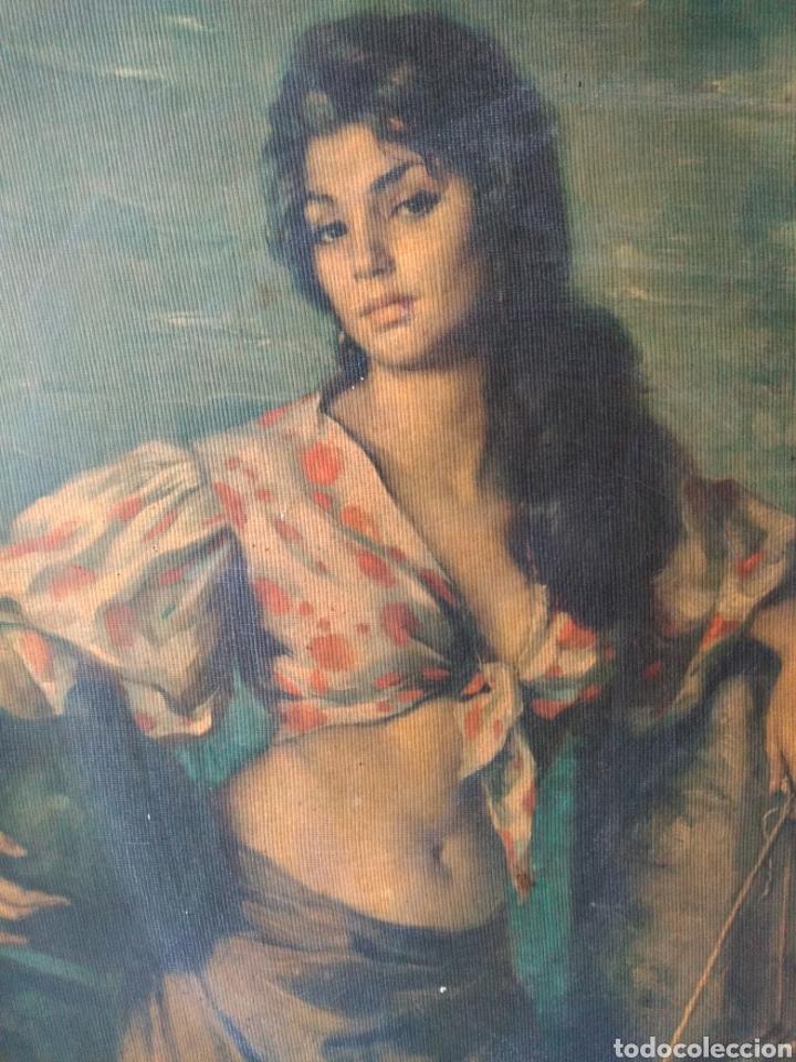 Varios objetos de Arte: CUADRO ANTIGUO ( MUJER CON CANTARO ) MÁS CUADROS EN MÍ PERFIL. - Foto 3 - 177405330