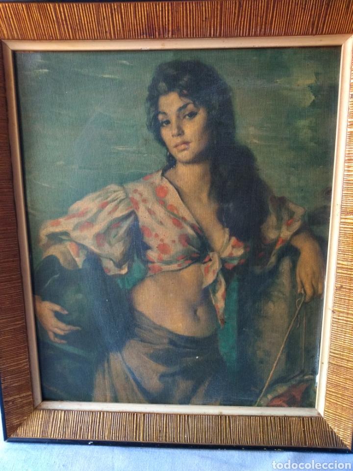 Varios objetos de Arte: CUADRO ANTIGUO ( MUJER CON CANTARO ) MÁS CUADROS EN MÍ PERFIL. - Foto 4 - 177405330