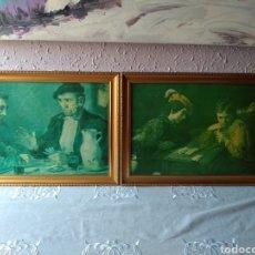 Varios objetos de Arte: CUADROS ( FIRMADO Y ANTIGUOS ). MÁS CUADROS EN MÍ PERFIL. Lote 177408342