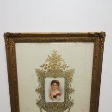 Varios objetos de Arte: CUADRO VINTAGE. Lote 177530097
