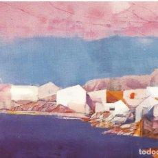 Varios objetos de Arte: INVITACIÓN MIQUEL IBARZ. DEU ANYS DE PINTURA 1974-1984. SALA GASPAR. BARCELONA. 10X15 CM.. Lote 177610639