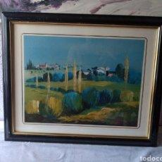 Varios objetos de Arte: CUADRO ( FIRMADO J. CASANOVA ). MÁS CUADROS ANTIGUOS EN MI PERFIL.. Lote 177667865