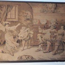 Varios objetos de Arte: TAPIZ MECÁNICO PRINCIPIOS SIGLO XX. Lote 177728733