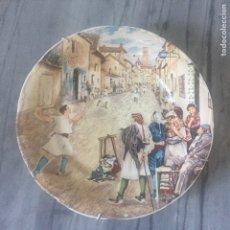 Art: PLATO IMPRIMACIÓN JUEGO TÍPICO VALENCIANO. Lote 177734707
