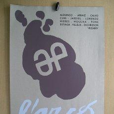 Varios objetos de Arte: CARTEL GRAFICA SPAGNOLA · L'ARCO, 1968: ALEXANCO, ARNAIZ, CALVO, CUNÍ, JARDIEL, LORENZO, MIERES…. Lote 177840232