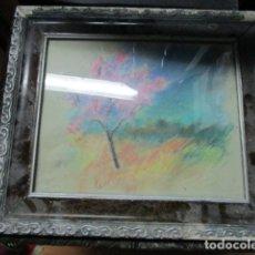 Varios objetos de Arte: ANTIGUO DIBUJO AL PASTEL . Lote 177970384