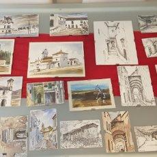 Varios objetos de Arte: PINTURAS DE J.MEDINA. Lote 178149364