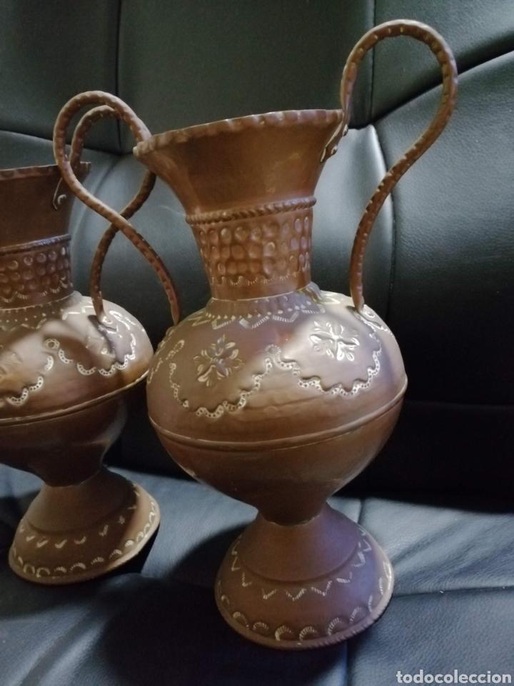 Varios objetos de Arte: jarrones de cobre - Foto 2 - 178203766