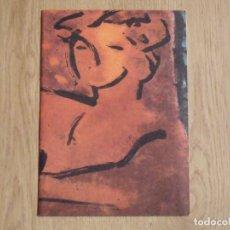 Varios objetos de Arte: PERICO PASTOR. DIPTÍCO.RENÉ METRAS. 1984. BARCELONA. BUEN ESTADO. 16X23 CM. ILUSTRADO. BARCELONA. Lote 178213392