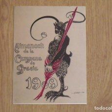 Varios objetos de Arte: INVITACIÓN L'HUMOR CATALÀ DEL 1900. SALA FUSET. MATARÓ. BUEN ESTADO. 16X12 CM. 1979.. Lote 178213705