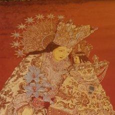 Varios objetos de Arte: TAPIZ REALIZADO CON TELA FALLERA POR MARZAL DE LA VIRGEN NTRA. SRA. DESAMPARADOS VALENCIA. Lote 178307770