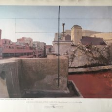 Varios objetos de Arte: ANTONIO LÓPEZ, TERRAZA DE LUCIO - EXPOSICIÓN ANTOLÓGICA MUSEO NACIONAL 1993. Lote 178584528