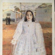 Varios objetos de Arte: ANTONIO LÓPEZ, CARMENCITA DE COMUNIÓN - EXPOSICIÓN ANTOLÓGICA MUSEO NACIONAL 1993. Lote 178585075