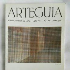 Varios objetos de Arte: REVISTA ARTEGUIA N° 37 1988. Lote 178953676