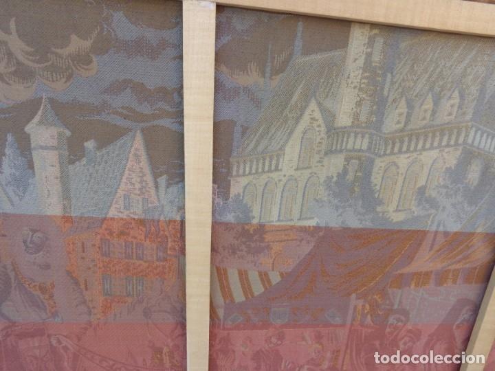 Varios objetos de Arte: MUY ANTIGUO PRINCIPIOS 1900 ENORME E IMPECABLE TAPIZ COMPLETO E IMPORTANTE - Foto 12 - 179063792